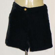 Velvet Hand-wash Only Regular Size Shorts for Women