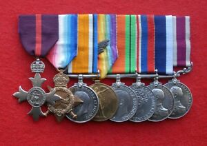 Superb R.N. MBE MSM Group to C.E.R. Artificer Henry John Northey