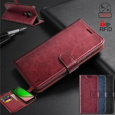 For Motorola Moto G7 Power/Plus/Play/Optimo Maxx Case Flip Leather Wallet Cover