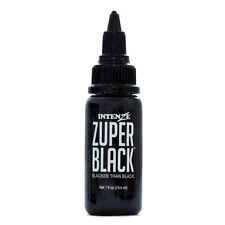 Intenze Professional Tattoo Ink Zuper Black