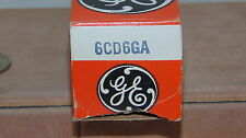 VINTAGE GENERAL ELECTRIC RADIO TUBE TELEVISION TUBE USED 6CD6GA NOT TESTED
