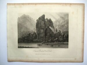 Church Rocks in Dove Dale (published June 2nd, 1817)