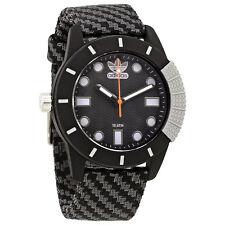 Adidas Abstract Black Dial Mens Fabric Watch ADH3169