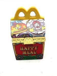 McDonalds Happy Meal Porcelain Hinged Trinket Box Ronald & Mayor McCheese Rare