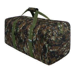 42 Inch Square Cargo Sports Bag GREEN Camo ACU Duffel Huge Jumbo Duffelbag Tote