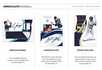 2019 PANINI IMMACULATE BASEBALL LIVE RANDOM PLAYER 1 BOX BREAK