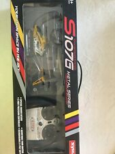 New Syma Gyroscopes System S107G Metal Series Mini Remote Control Helicopter