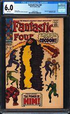 Fantastic Four 67 CGC 6.0