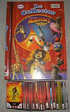 Album Complet Madagascar ! Inclus 24 Jetons et 90 Cartes Stickers à Coller !