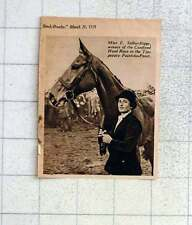 1939 Miss E Selby Bigge Wins Tipperary Point-to-point