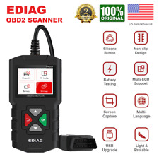 Car OBD2 EOBD Scanner Automotive Check Engine Fault Diagnostic Tool Code Reader