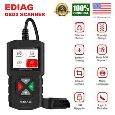 Car OBD2 EOBD Scanner Automotive Check Engine Fault Diagnostic Tool Code Reader