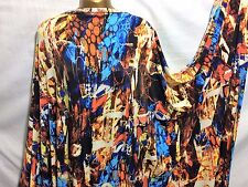 NEW*Multicoloured Designer African Print Stretch Lycra Dress/Craft/Party Fabric