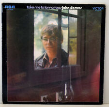 JOHN DENVER TAKE ME TO TOMORROW Disque LP Vinyle 33 Tours RCA USA LSP-4278 1970