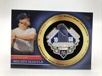 Mickey Mantle, 2012 Topps, World Series Champion Pin, GWSP-MM, New York Yankees