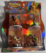 Pokemon Next Quest: Flamethrower *NIP* Trading Figure Game TFG 2007 Starter Set