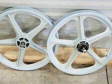 skyway street beat old bmx light blue orig. 80s mag wheels styler ta bike 20 86