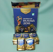 Panini WM 2018 Russia World Cup Sticker Hardcover + 200 Tüten / 1000 Sticker