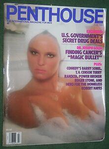 Penthouse July 1989 POM Suzy Tiffany Stevens ROGER STONE Robert Hayes interview