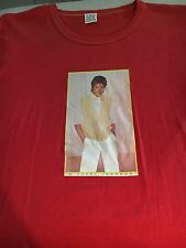 Original 1983 Human Nature Yellow Vest MICHAEL JACKSON Cotton T-Shirt Sz Med