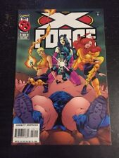 X-force#52 Incredible Condition 9.4(1996) Blob Beatdown!!