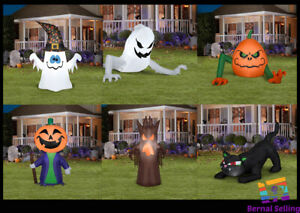 4' Ft LED Lighted Halloween Yard AIRBLOWN Inflatables Garden Outdoor PROP Decor
