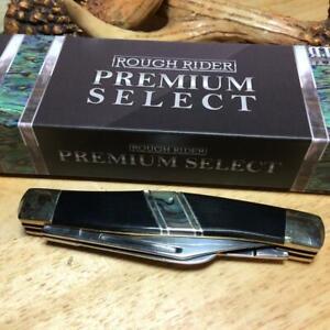 "Rough Rider Premium Select Stockman 3 7/8"" Pocket Knife RR1690"