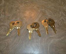 (3) pr Ccl Cat 45 Key - Ge, Est, Edwards Fire Alarm Key