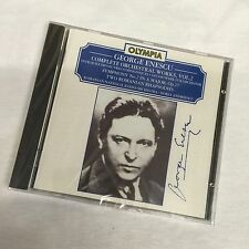 GEORGE ENESCU cd Symphony No 2 ROMANIAN RHAPSODY Priority Mail FACTORY SEALED