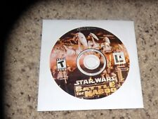 Star Wars Battle for Naboo (PC, 2001) Game