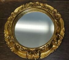 7 Inch Gold Framed Circle Mirror