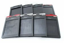 Fidelity deluxe 4x5 Cut Film Holder Back Lot of 8 [Excellent+] from Japan#686701
