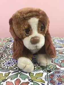 Vintage Russ Berrie Baxter Sad Sam Plush Cuddly Soft Toy