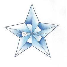 BLUE STAR Temporary Tattoo