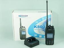 KIRISUN K800 UHF 400-470 MHz 4W 256CH Professional Digital DPMR Two Way  Radio