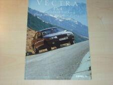 21368) Opel Vectra A 4x4 Prospekt 1990