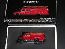 Minichamps 439141070, Magirus-Deutz Merkur TLF 16, 1959, Feuerwehr ULM, 1/43 OVP