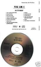 YOU AM I Hi Fi Way ULTRA RARE ADVNCE PROMO CD dj 1994