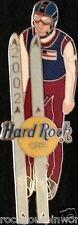 Hard Rock Cafe ONLINE 2002 WINTER GAMES PIN LE 10 Prototype Ski Jumper Salt Lake