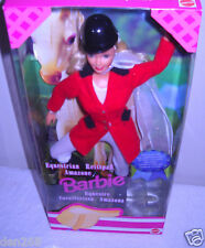 #8616 RARE NRFB Mattel Equestrian Barbie Foreign Issue