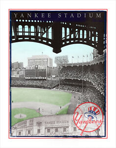 Yankees Stadium Print