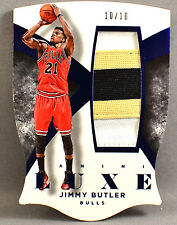 14-15 Panini Luxe Jimmy Butler NBA JERSEY PATCH #10/10 2014 2015 CHICAGO BULLS