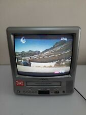 Retro Grundig TVR 3805 CRT TV and VCR Combo - Working Order - Used