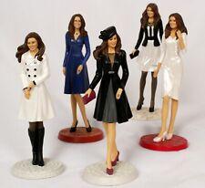 5 Kate Middleton Dolls Hamilton Collection Figurines Future Princess Series
