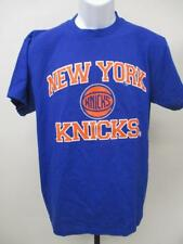 New Majestic New York Knicks Mens Size M Medium Blue Shirt MSRP $25