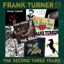 FRANK TURNER-THE SECOND THREE YEARS-JAPAN CD E51