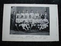 RARE Original Famous Footballers, #121 Swansea Rugby Team 1895 - 96