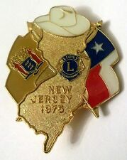 Pin Spilla Lions International New Jersey 1975