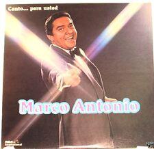 Marco Antonio Muñiz Canta Para Usted     LP