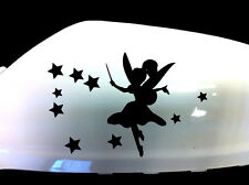 Fairy Stardust Car Sticker Wing Mirror Styling Decals (Set of 2), Black